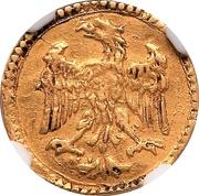 Scudino d'Oro of 103 Soldi - Francesco D'Este – reverse