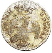 2 Lire - Francesco III d'Este – reverse