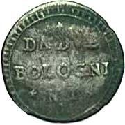 2 Bolognini - Ercole III d'Este – reverse