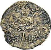 1 Giorgino - Francesco I d'Este – reverse