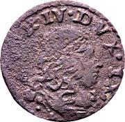 1 Sesino - Alfonso IV d'Este – obverse