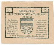 10 Heller (Mödling) -  reverse