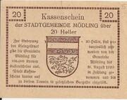 20 Heller (Mödling) -  reverse