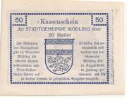 50 Heller (Mödling) -  reverse