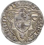 1 Weißpfennig - Friedrich III. – reverse