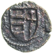 ½ Groshen - Petru II Mușat – reverse