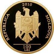 100 Lei (Grigore Vieru) -  obverse