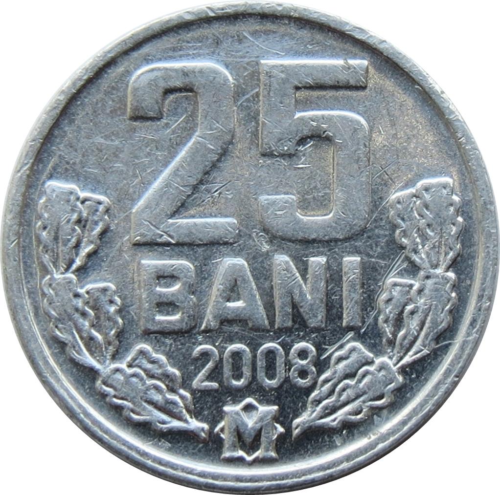 25 bani 1995 стоимость купить грузинские лари в санкт петербурге