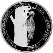10 Lei (Green woodpecker) – reverse
