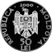 50 Lei (Căpriana Monastery) – obverse