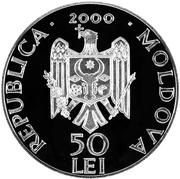 50 Lei (Condriţa Monastery) -  obverse
