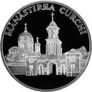 50 Lei (Curchi Monastery) -  reverse