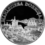 50 Lei (Dobruşa Monastery) -  reverse