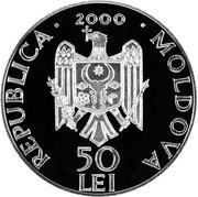 50 Lei (Hîrbovăţ Monastery) -  obverse