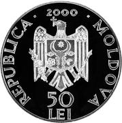 50 Lei (Noul Neamţ Monastery) – obverse