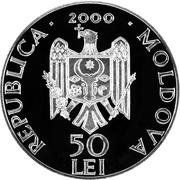 50 Lei (Răciula Monastery) – obverse