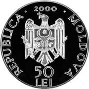 50 Lei (Rudi Monastery) -  obverse