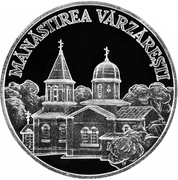 50 Lei (Vărzăreşti Monastery) -  reverse