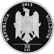 50 Lei (Ţipova Monastery) -  obverse