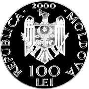 100 Lei (Battle of Vaslui) -  obverse