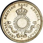 ½ Rupee (IBEA Coinage) – obverse