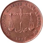1 Pice (IBEA Coinage) – obverse