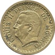 2 Francs - Louis II – obverse