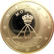 10 Euro Cent - Albert II (2nd type, 1st map) – obverse