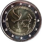 2 Euro - Albert II (Admission to UN) -  obverse