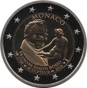 2 Euro - Albert II (250th Anniversary of the birth of François-Joseph Bosio) – obverse