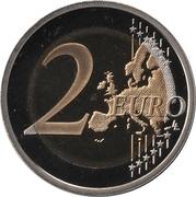 2 Euro - Albert II (250th Anniversary of the birth of François-Joseph Bosio) – reverse