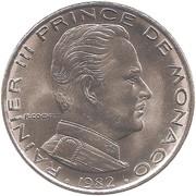 1 Franc - Rainier III -  obverse