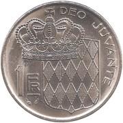1 Franc - Rainier III -  reverse