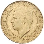 10 Francs - Rainier III – obverse