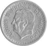 1 Franc - Louis II -  obverse