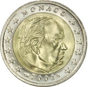 2 Euro - Rainier III – obverse