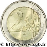2 Euro - Rainier III – reverse