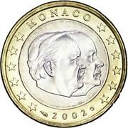 1 Euro - Rainier III – obverse