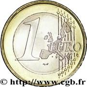 1 Euro - Rainier III – reverse