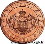 2 Euro Cent - Rainier III – obverse