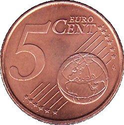 5 cents d 39 euro 1er type monaco numista. Black Bedroom Furniture Sets. Home Design Ideas