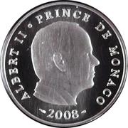 5 Euro - Albert II (Deo Juvante) – obverse
