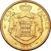 100 Francs - Charles III – reverse