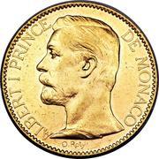100 Francs - Albert I – obverse