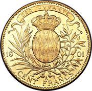 100 Francs - Albert I – reverse