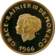 200 Franc - Rainier III ( Xème Anniversaire de mariage) – obverse