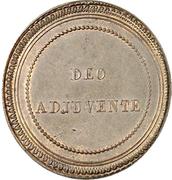 1 Decime - Florestan I (Essai) – reverse