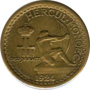 50 Centimes - Louis II – obverse