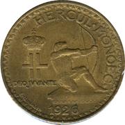1 Franc - Louis II – obverse