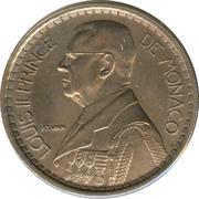 20 Francs - Louis II – obverse